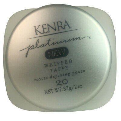 NEW Kenra Platinum Whipped Taffy Matte Defining Paste 2oz