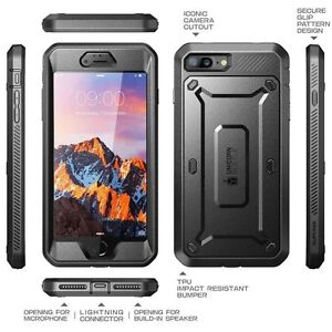 uk availability a2acf 02a5f iPhone 7 Plus Case 8 SUPCASE Unicorn Beetle Pro Series Full Body Rugged  Holster