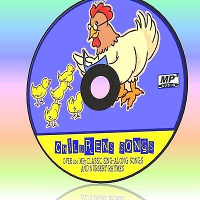 200+ OF THE BEST CHILDREN SONGS, KIDS NURSERY RHYMES & SING-ALONGS NEW MP3