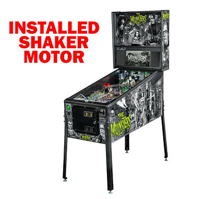 Stern The Munsters Premium Pinball Machine with Shaker Motor