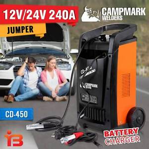New Campmark 12V/24V Battery Charger Single Phase CD 450 Fairfield Fairfield Area Preview