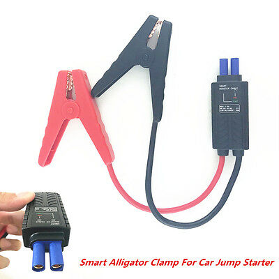 Car Jump Starter Connector Emergency Lead Cable Battery Booster Alligator Clamp 12v Ac Battery Booster