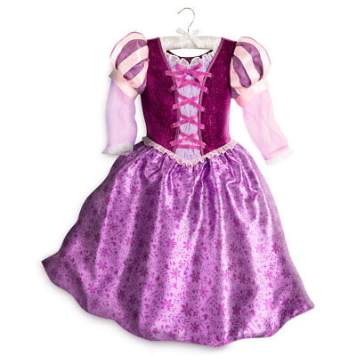 Rapunzel Costume For Girl (NWT Disney Store Rapunzel Costume Gown Dress Tangled the Series Girls many)