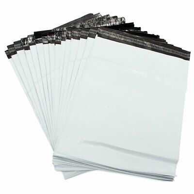 50 x Strong White Postal Mailing Bags Sacks 10x14