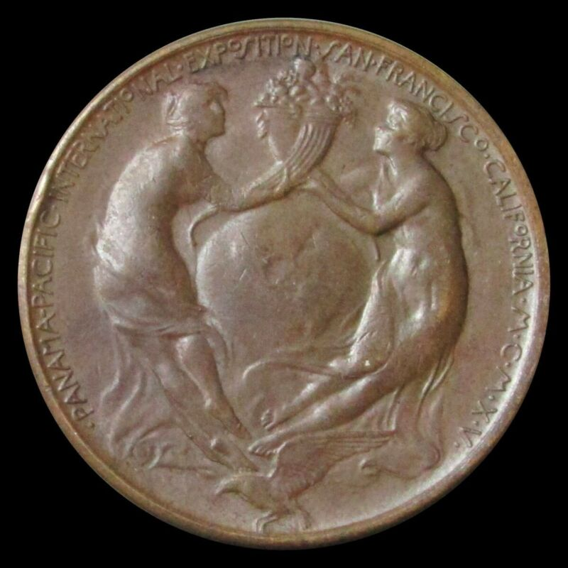 1915 PANAMA -PACIFIC INTERNATIONAL EXPOSITION OFFICIAL MEDAL HK# 400