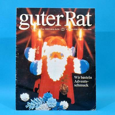 Guter Rat 4-1979 Verlag für die Frau DDR Jugendweihe Pentacon K 16 Goldhamster D