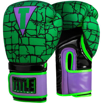 Title Boxing Infused Foam Training Boxing Gloves Jester