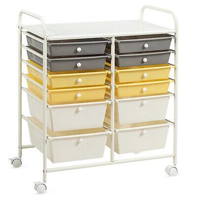 12 drawer rolling storage cart tools scrapbook