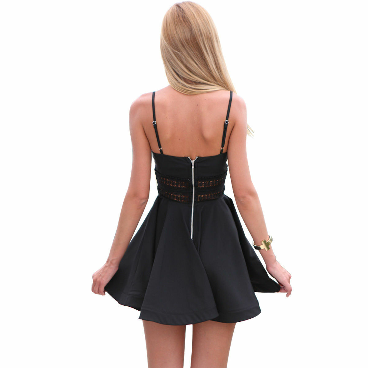 Sexy Women Summer Casual Sleeveless Evening Party Cocktail Short Mini Dress US Clothing, Shoes & Accessories