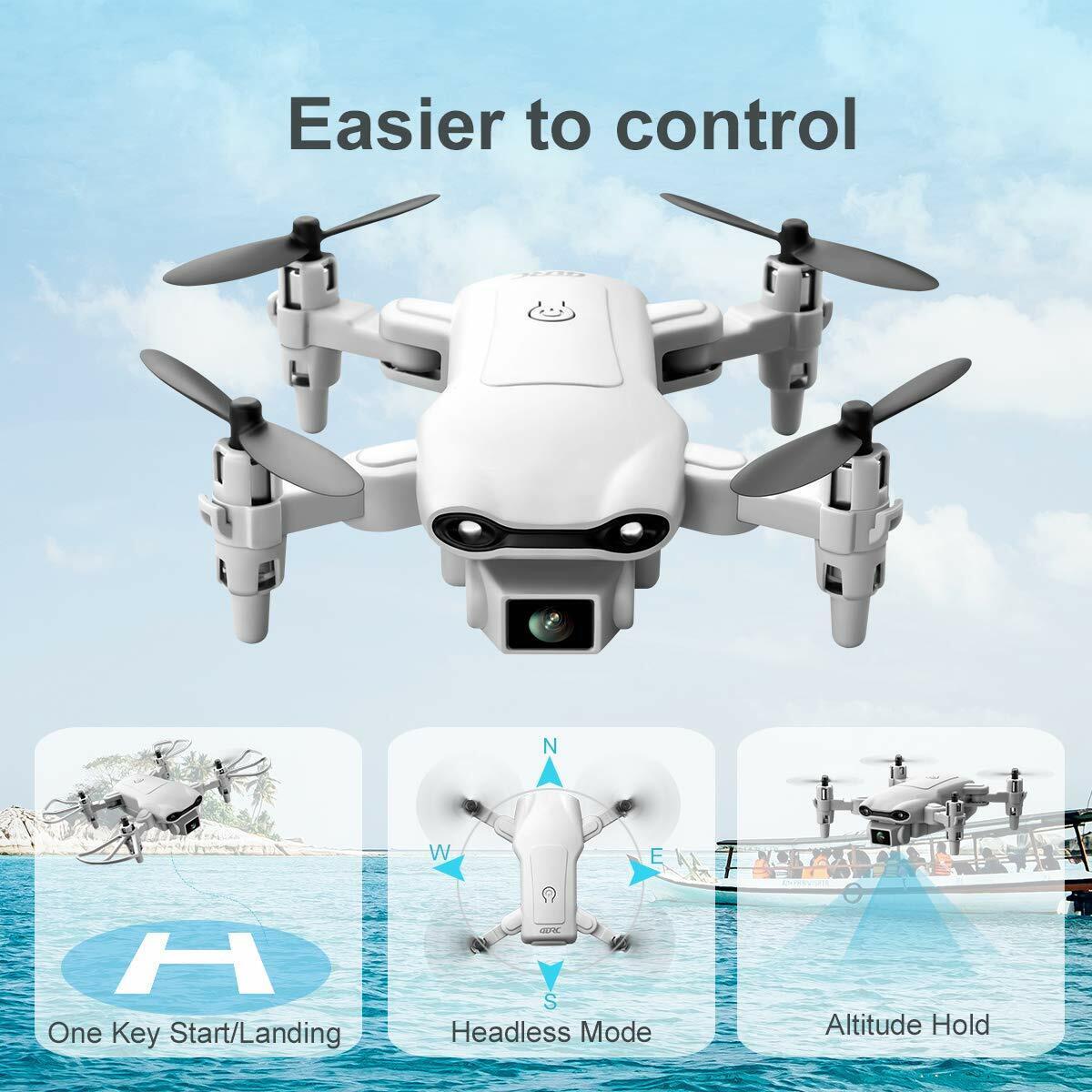 New RC Drone 4k HD Wide Angle Camera WIFI FPV Drone Dual Camera Quadcopter 2