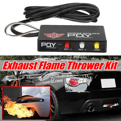 PERFORMANCE REV LIMITER LAUNCH CONTROL CHIP TYPE B DRIFT FIRE SHOOTING EXHAUST 2 Step Launch Control