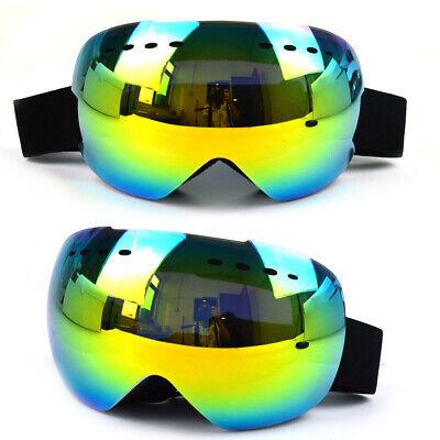 X3 Ski Goggles - Yellow Revo