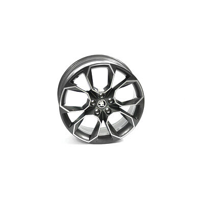 Original Skoda RS Aluminiumfelge 19 Zoll Tuning Sport X-trem Leichtmetallfelge