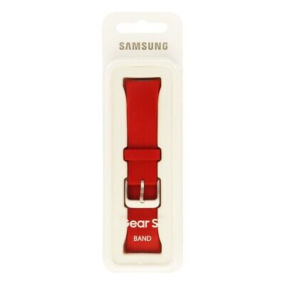 OEM Replacement Band for the Samsung Gear S2 Smartwatch - Red