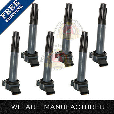 Ignition Coil Set of 6 Kit for Camry Avalon Rav4 Sienna Venza RX350 ES350 35L