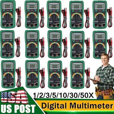 Lot Digital Dt9205a Multimeter Acdc Ammeter Resistance Capacitance Testermeter