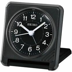 Seiko Alarm Tabletop Clock Sachi Travel Quartz Analogue QHT015KLH