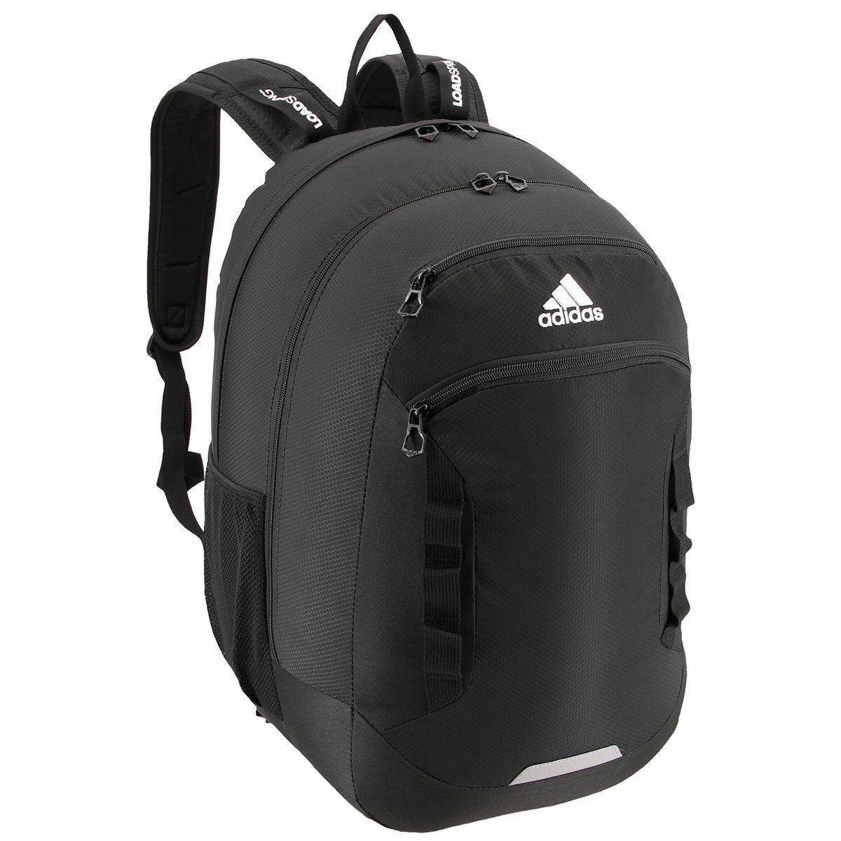 5a91236dd604 adidas Excel III Backpack 5143204 Black 2539 CU for sale online
