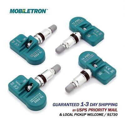 4-Pack Mobiletron Pre-programmed TPMS Sensor 433MHz | A4 S4 Q7 R8 E90 E60 E63 E7