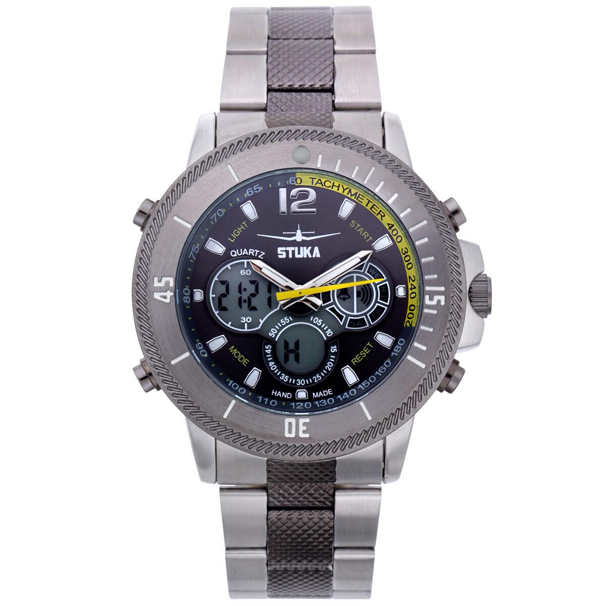 Stuka Ana-Digi Chronograph SR-71 Mens Watch/MSRP $669.00 3 C