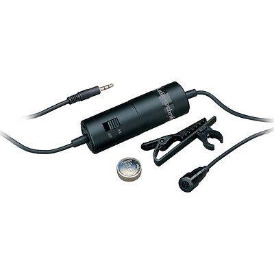 Audio-Technica ATR 3350i Omnidirectional Condenser Lavalier Microphone