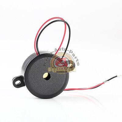 12v High-decibel Audible Electronic Buzzer Beeper Continous Beep Black