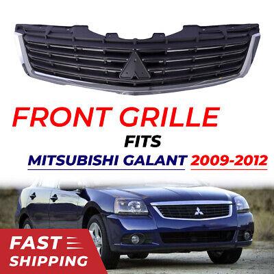 Bumper Grille Front Grill Bar Vent Fit For 2009-2012 Mitsubishi Galant Sedan Car Mitsubishi Front Bars
