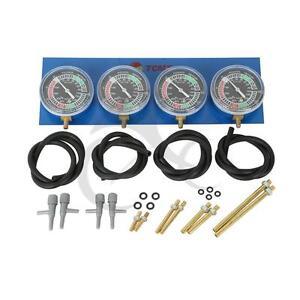 Vacuum Carburetor Synchronizer carb sync Gauge 4 For Honda CB GL1100 1200 1500