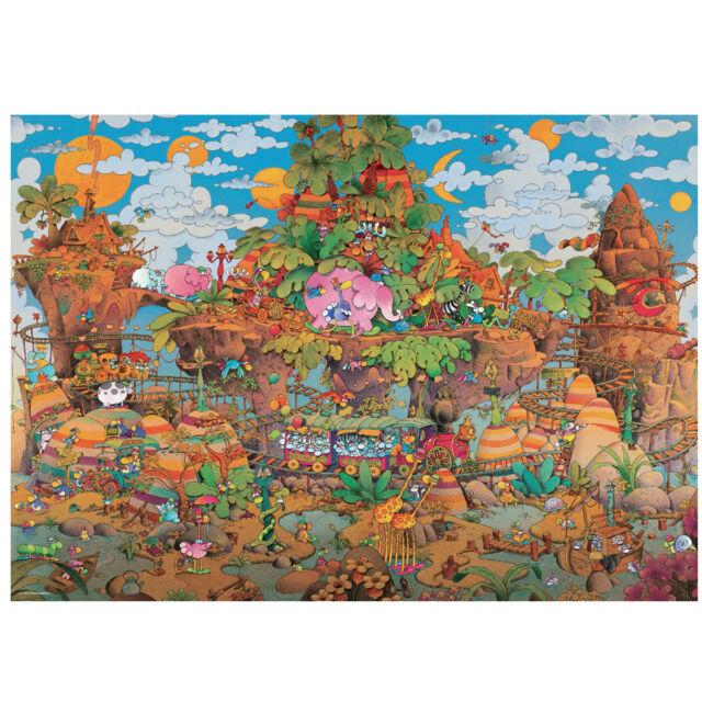 Cartoon Train 2000 Piece Jigsaw Puzzle