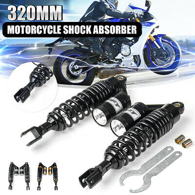 12.5'' 320mm Motorcycle Rear Shock Absorber Suspension For Honda Yamaha  #