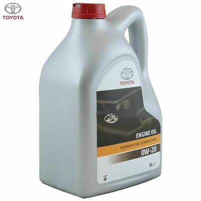 5 Litri Olio Motore Originale Toyota 0W20 AFE 100% Sintetico Fuel Economy Hybrid