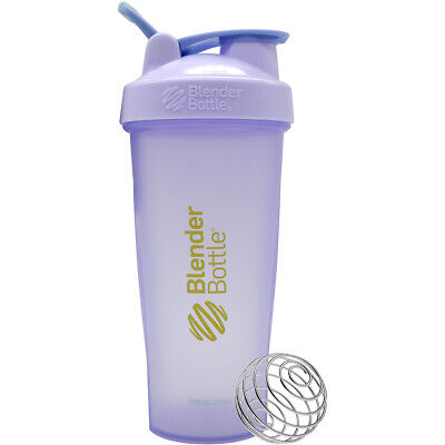 Blender Bottle Special Edition 28 oz. Shaker with Loop Top - Lilac 28 Ounce Blender Bottle