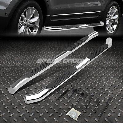"""FOR 11-18 FORD EXPLORER SUV CHROME STAINLESS 3"""" SIDE STEP NERF BAR RUNNING BOARD"""