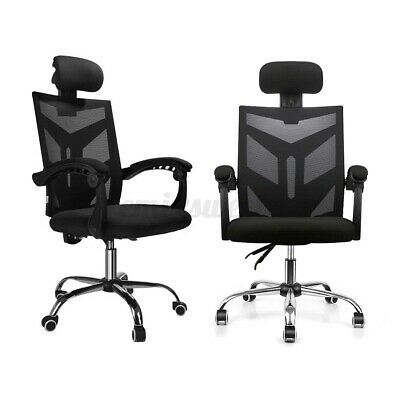 Mesh Executive Office Chair Swivel High Back Adjustable Ergonomic Computer Desk