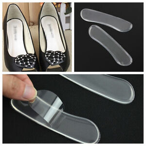 6pcs Cushion Silicone Shoe Back Heel Inserts Insoles Gel Pad Grip Liner Foot