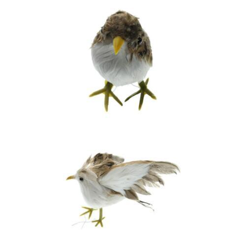 Fake Artificial Bird Magpie Realistic Imitation Home Garden Decor