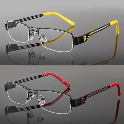 Khan Clear Lens Frames Glasses Small Rectangular Nerd RX Mens Women Fashion Silv