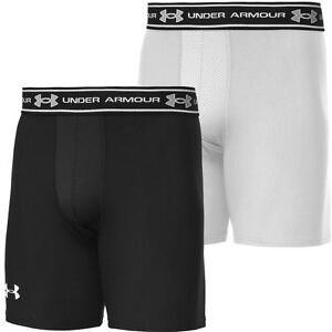 Under Armour Compression Shorts With Pads Boys Under Armo...