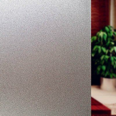 Bloss Etched Privacy Window Film Decorative Self Adhesive Glass Contact Paper