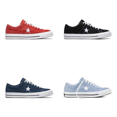 New Original Converse One Star OX Sneakers Suede Men Shoes All Sizes Colors NIB Converse One Star Suede
