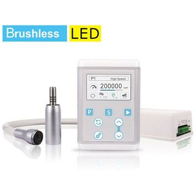 Dental Electric Optic Motor Brushless Nsk Type 15 Increasing Led Handpiece