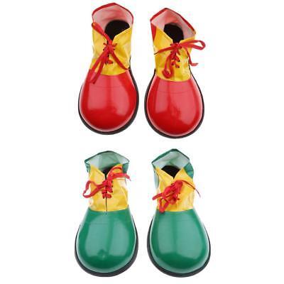 Clown Men Children Shoes Cover Fancy Dress Fun Circus Costume Accessory - Costume Clown Shoes
