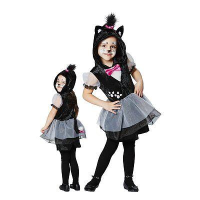 Katze Mieze Kater Kostüm Mädchen 104 116 128 140 Kinderkostüm (Mädchen Kätzchen Kostüm)