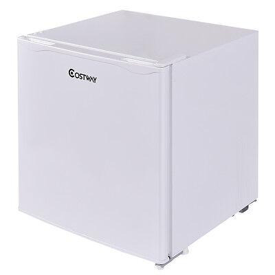 50 Litre Compact Refrigerator White Under Counter Mini Fridge Cooler Freezer New