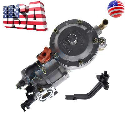 New Dual Fuel Carburetor Carb LPG Conversion kit for Generator Engine GX200 170F