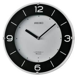 Seiko QXM358SLH White Dial Musical Wall Clock