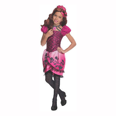 Briar Beauty Costume for Girls size 8-10 & 14-16 WITH WIG!! Ever After High New