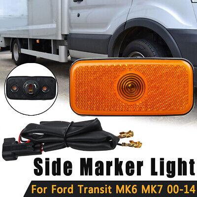 SIDE MARKER LAMP LIGHT & WIRING LOOM FOR FORD TRANSIT MK6 MK7 00-14 1671689
