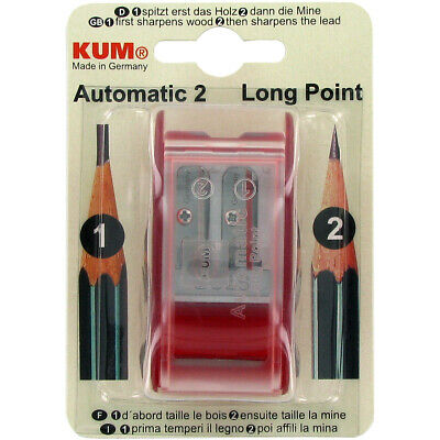 Kum R Automatic Long-point Pencil Sharpener-