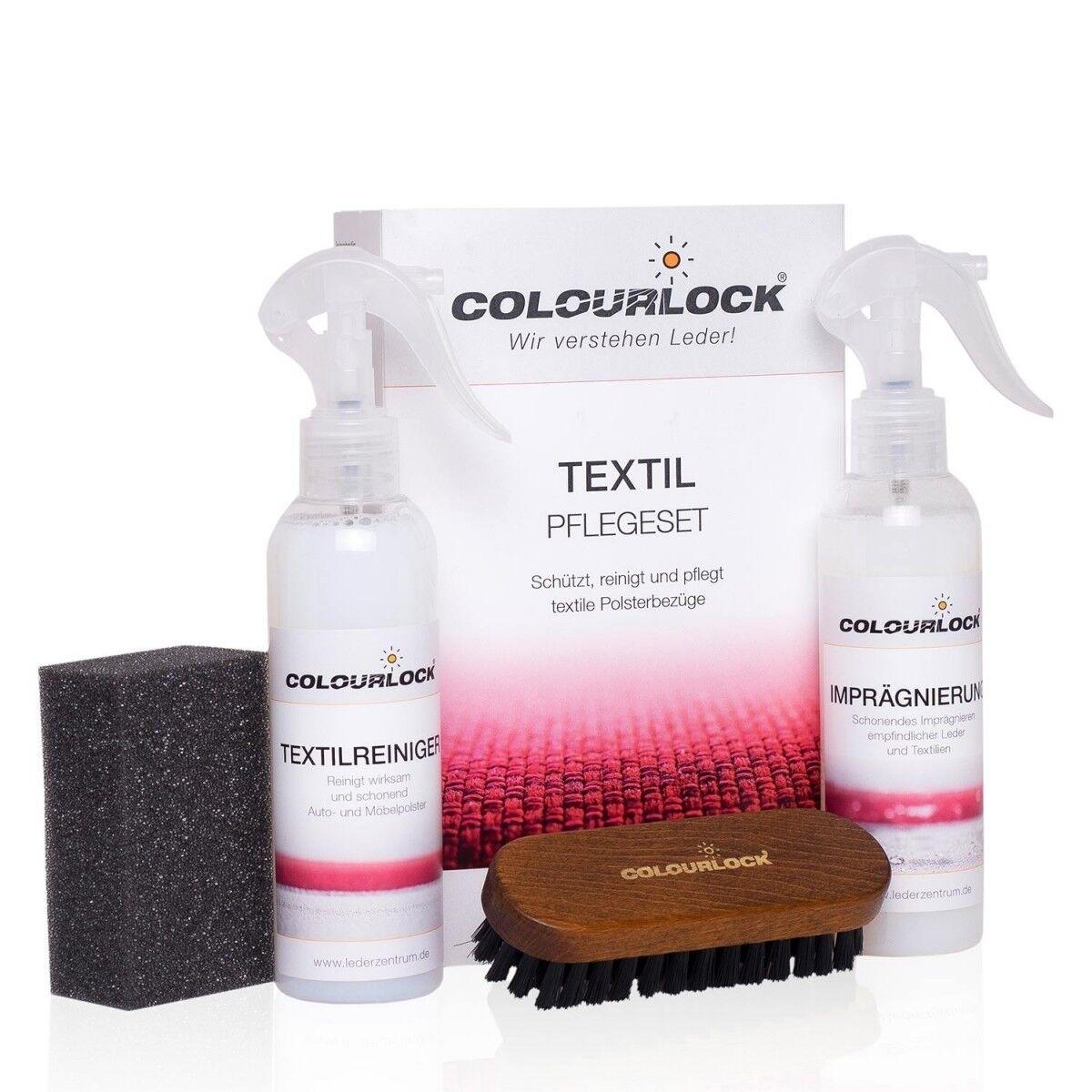 COLOURLOCK Textil-Pflegeset für Microfasern,Alcantara,Stoffe usw.